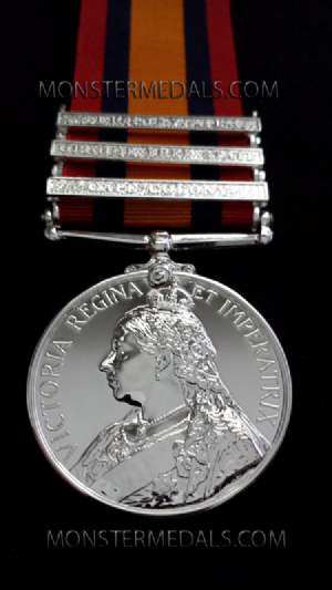 QUEENS SOUTH AFRICA MEDAL FULL SIZE REPLACEMENT COPY